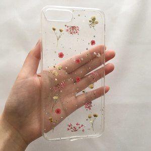 iPhone 7 Plus Pressed Flower Case